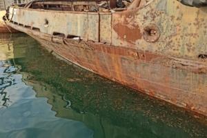 "Полиция открыла дело из-за загрязнения моря нефтепродуктами с буксира ""Аметист"""