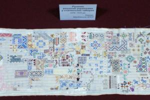 У вінницькому музеї виставили рушник, вишитий українками у сталінських таборах