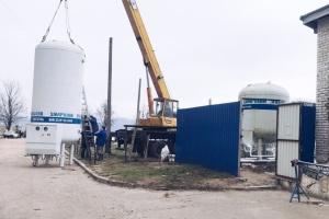 Новий кріоциліндр повністю забезпечує киснем лікарню швидкої допомоги у Львові