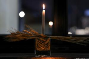 У президента Польщі запалили свічку в пам'ять про жертв Голодомору
