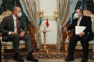 Шмыгаль встретился с министром промышленности Турции
