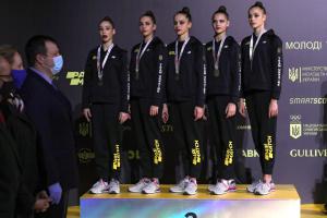 Україна завершила ЧЄ з художньої гімнастики з трьома золотими медалями