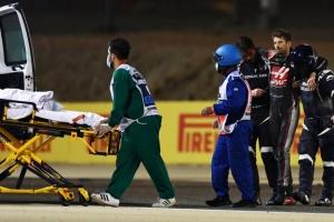 Формула-1: Грожан уникнув переломів після страшної аварії на Гран-прі Бахрейну