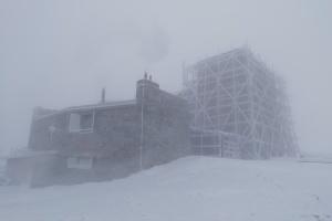 В заснеженных Карпатах ударил 10-градусный мороз
