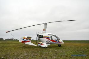Первый украинский гирокоптер проходит испытания