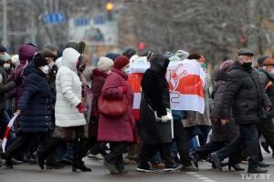 У Мінську пенсіонери вийшли на «Марш мудрості»