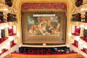 Version of Lviv National Opera's curtain up for auction at Sotheby's