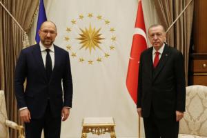 Шмигаль після зустрічі з Ердоганом: Туреччина — один із ключових партнерів України