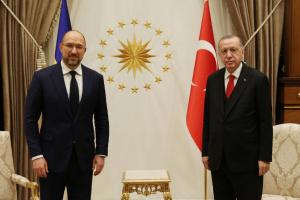 Шмыгаль встретился с Эрдоганом: Турция — один из ключевых партнеров Украины