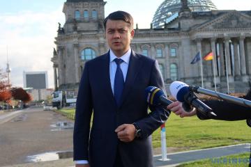 Dmytró Razumkov, presidente de la Rada Suprema