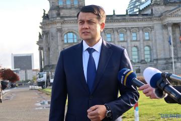 Dmytro Razumkov, Chairman of the Verkhovna Rada