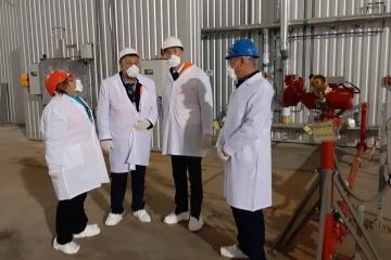 Etienne de Poncins, Ambassadeur de France en Ukraine, a visité Tchornobyl