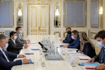 Zelensky meets with ICRC president before his visit to Donbas