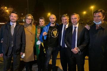 Nationalgardist Markiw kehrt nach Freispruch in Italien in die Ukraine zurück