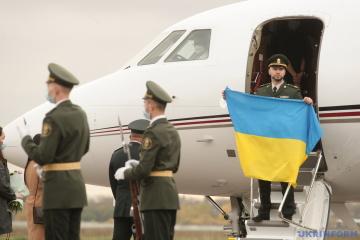 Markiv returns to Ukraine