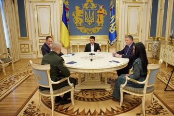 Zelensky meets with Markiv
