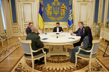 Zelensky se encuentra con el soldado Markiv