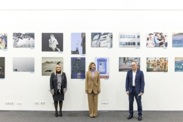 First Lady attends exhibition of Argentinian fine art photographers at Ukrinform