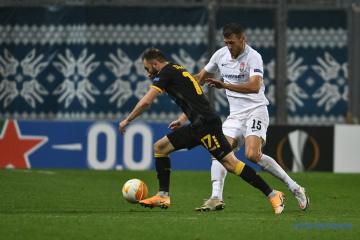 Dritte Niederlage in Europa League in Folge: Sorja unterliegt AEK Athen 1:4