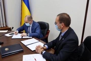 Ucrania y la OMS firman un acuerdo de cooperación de dos años