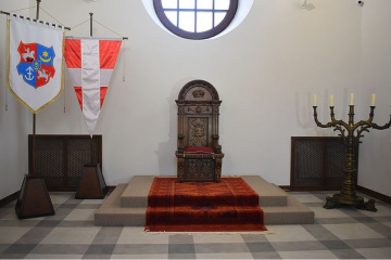 У Дубенському замку презентували Тронну залу