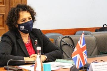 UK's Ambassador, Head of Kherson RSA discuss situation in region