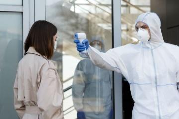 Kyiv city reports 1,083 new COVID-19 cases