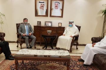 Ambassador Balanutsa discusses possible participation of Kuwait in Crimean Platform
