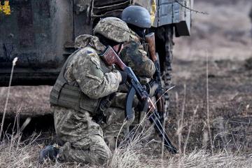 Ostukraine: Besatzer schießen zweimal nahe Wodjane