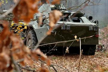 Okupanci 2 razy złamali zawieszenie broni w pobliżu miejscowości Wodjane