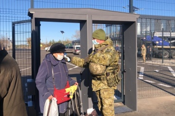 Almost 43,000 people have crossed BCPs in Donbas over past month