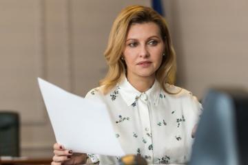 Olena Zelenska : Mon mari n'a pas encore discuté de l'idée de briguer un second mandat avec moi