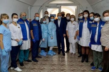 700 Corona-Schwerkranke in Metschnikow-Klinik in Dnipro – Gesundheitsminister Stepanow