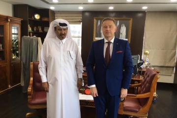 Ukraine, Qatar discuss prospects for expanding trade cooperation