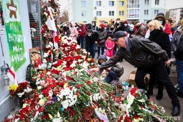 ウクライナ、ベラルーシでの抗議参加者殺害を非難