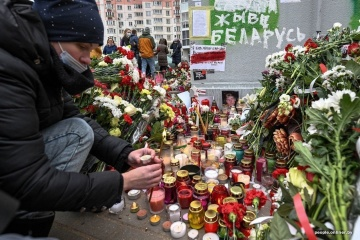 ベラルーシ当局に殺害された市民の追悼イベントが各地で開催