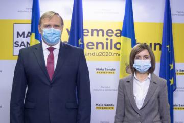 Maia Sandu : Nous voulons dégeler les relations bilatérales avec l'Ukraine