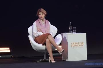 Stefanishyna: La industria creativa ayudará a Ucrania a ser más reconocida en el mundo