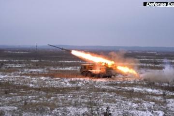 Shepetivka Repair Plant tests new MLRS