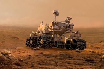 У NASA презентували нові функції 3D-моделі марсоходу Perseverance