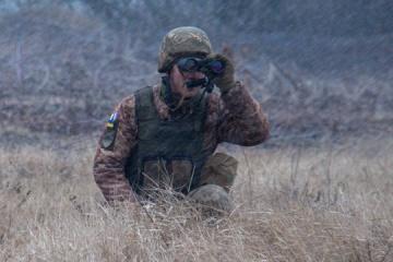 Okupanci 2 razy naruszyli zawieszenie broni, w pobliżu miejscowości Awdijiwka jeden ukraiński żołnierz został ranny