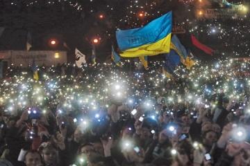 Embajada: Estados Unidos apoya a Ucrania y promesas de Euromaidan