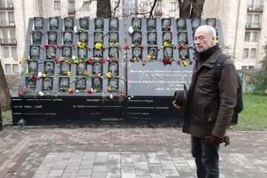 L'ambassadeur de France en Ukraine a honoré la mémoire des Ukrainiens tués pendant les événements sur Maïdan