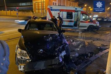 Odessa: Drei Verletze bei Unfall mit Rettungswagen