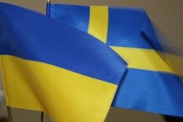 Ukrainian ambassador presents credentials to King of Sweden