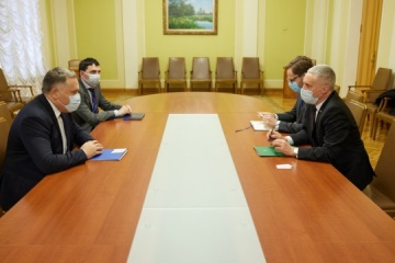 Deputy head of President's Office, Lithuanian ambassador discuss preparation for next meeting of Council of Presidents