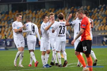 El Shakhtar pierde ante el Borussia Mönchengladbach en el partido de la Liga de Campeones