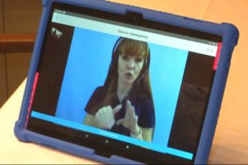 Spécialiste IT ukrainien crée une application mobile pour les malentendants