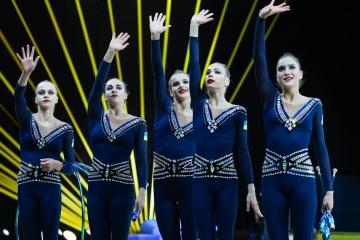 Le Championnat d'Europe de gymnastique rythmique débute à Kyiv