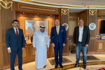Qatari Businessmen Association ready for cooperation with Ukrainian counterparts